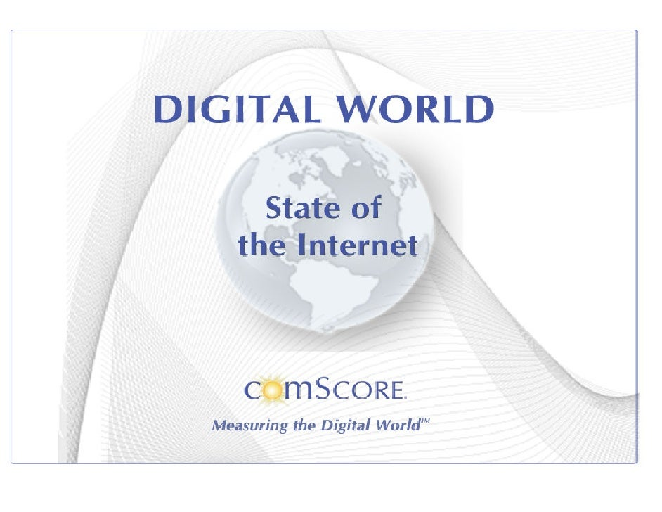 ComScore - State of the internet - Brazil