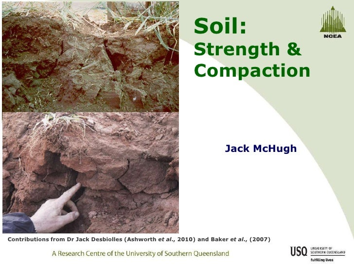 soil strength and compaction