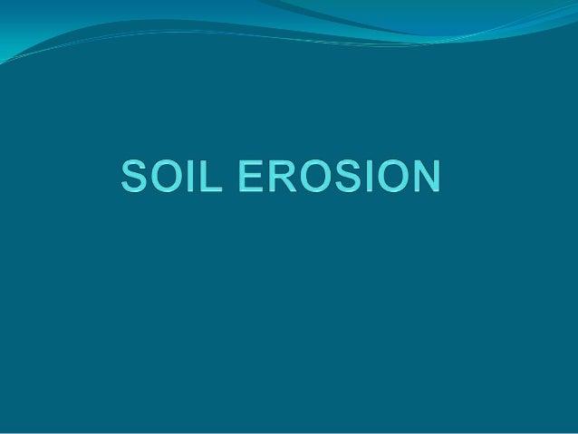 Soil erosion2