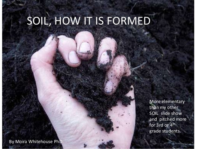 SOIL, HOW IT IS FORMED                            More elementary                            than my other                ...