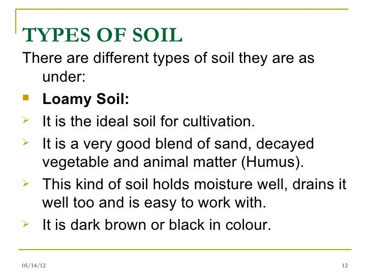 Soil its formation by muhammad fahad ansari 12ieem14 for Types of soil and their uses