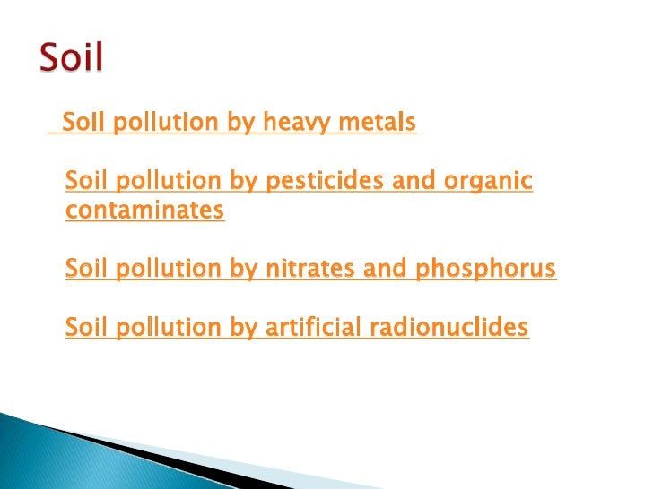 Soil pollution introduction essay for Introduction of soil