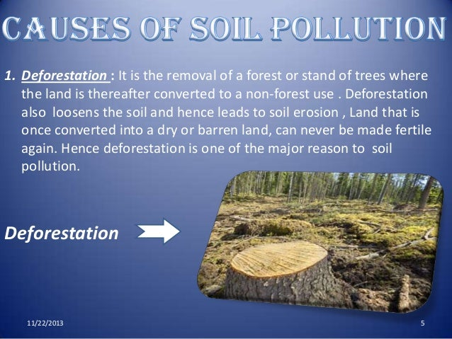 Land Pollution PPT and PDF for Free Download