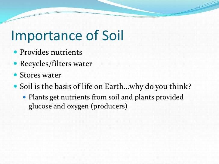 Soil ppt for Types of soil for kids