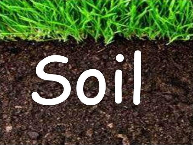 Soil ppt for Soil king productions