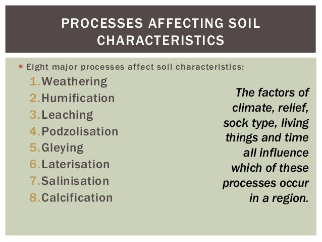 Soils part 2 for Soil 4 climate