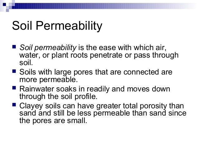 Soil structure density and porosity for Soil definition