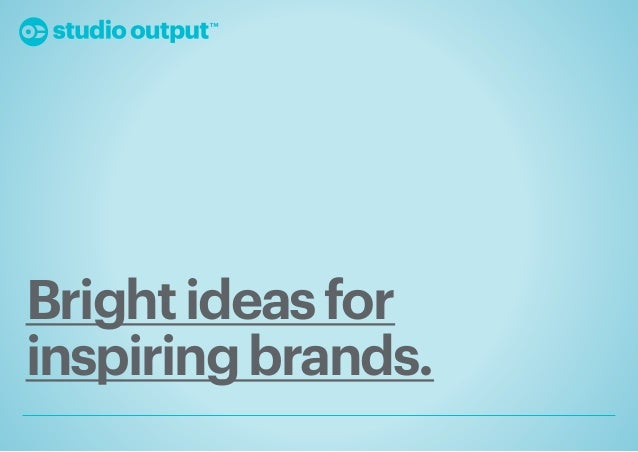 Studio Output Insight Report