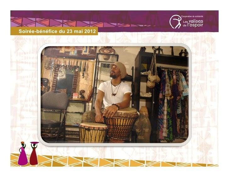 Soirée-bénéfice du 23 mai 2012