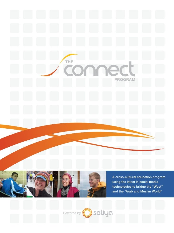 THE                  PROGRAM                  A cross-cultural education program              using the latest in social m...