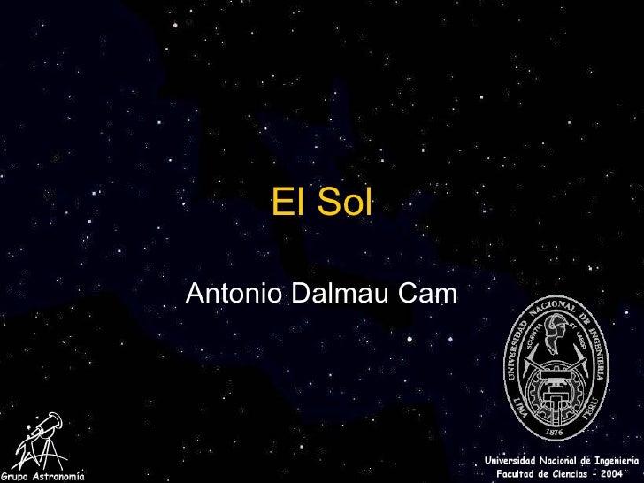 El Sol Antonio Dalmau Cam