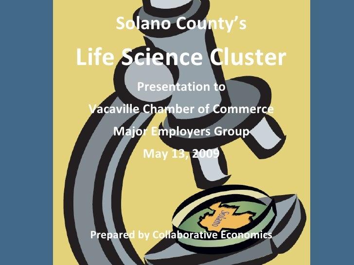 Solano Life Sciences May 13, 09 Major Employers Group