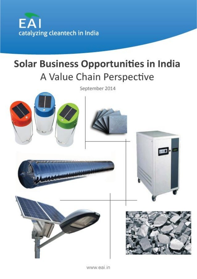 Solar Business Opportunities in India-A Value Chain Perspective EAI