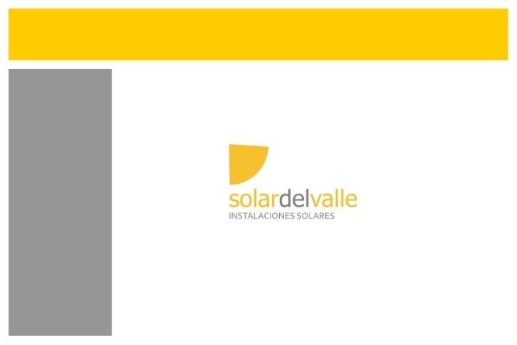 Solar del Valle - Presentación General Empresa
