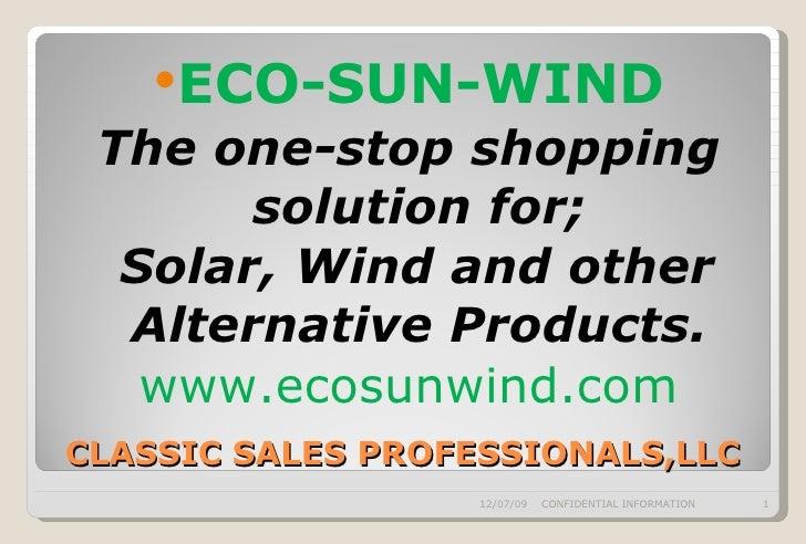 Eco-Sun-Wind.com