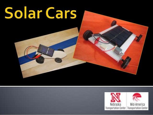 Solar Cars