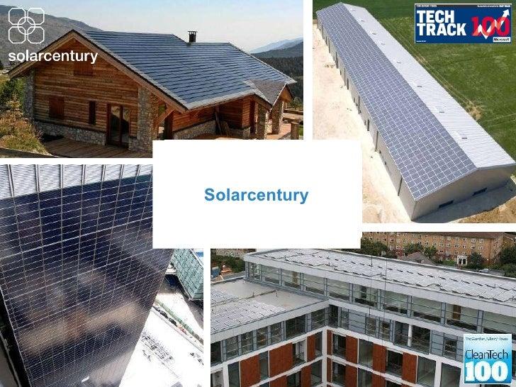 Available Solar Technologies - Susannah Wood (Solarcentury)