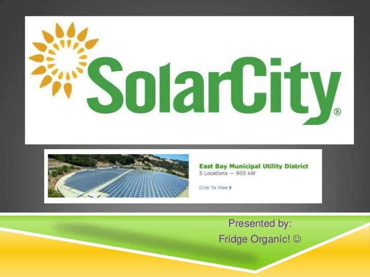 SolarCity - The Hot shit!