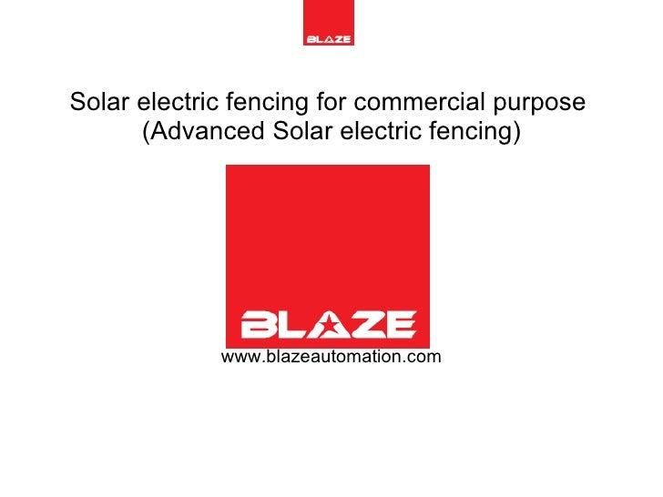 Solar Electric Fencing (Advanced)2