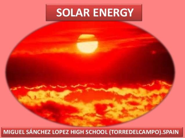 Solar energy comenius revised definitivo 2