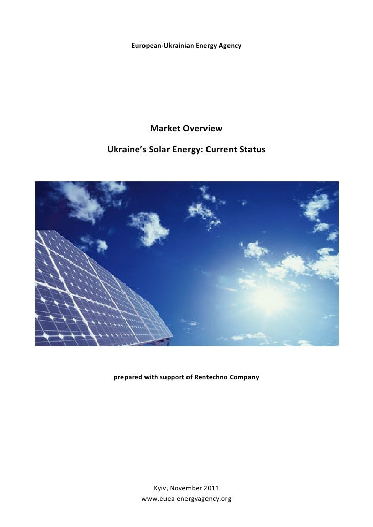 Solar energy market overview nov 25 2011_eng_final