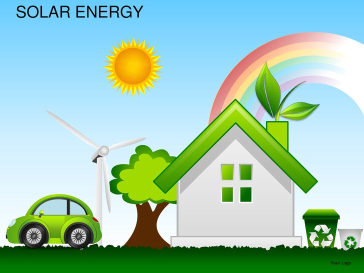 Solar energy powerpoint presentation templates for What is solar power for kids