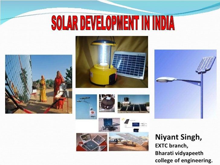 IETE Institute Solar PPT