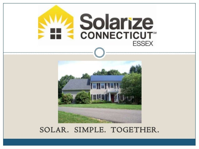 SOLAR. SIMPLE. TOGETHER.