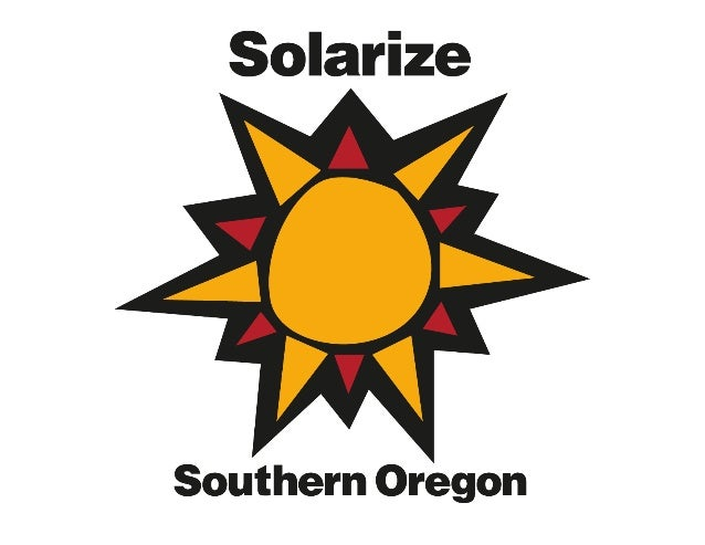 About Solarize Southern Oregon Interested community members are joining forces to go solar. Together, we'll realize cost s.