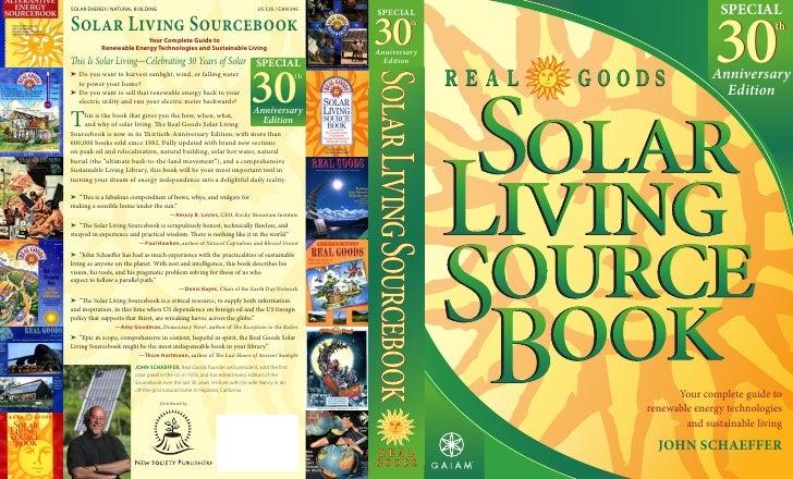 Solar livingsourcebook excerpt