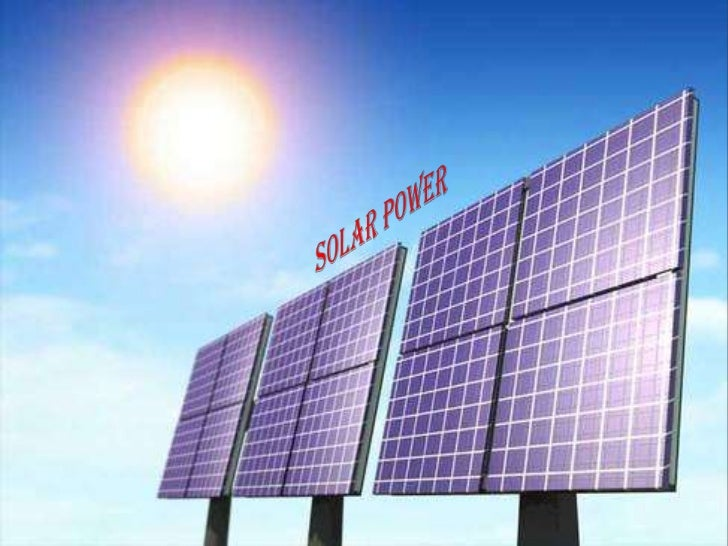 Solar Power For Poor