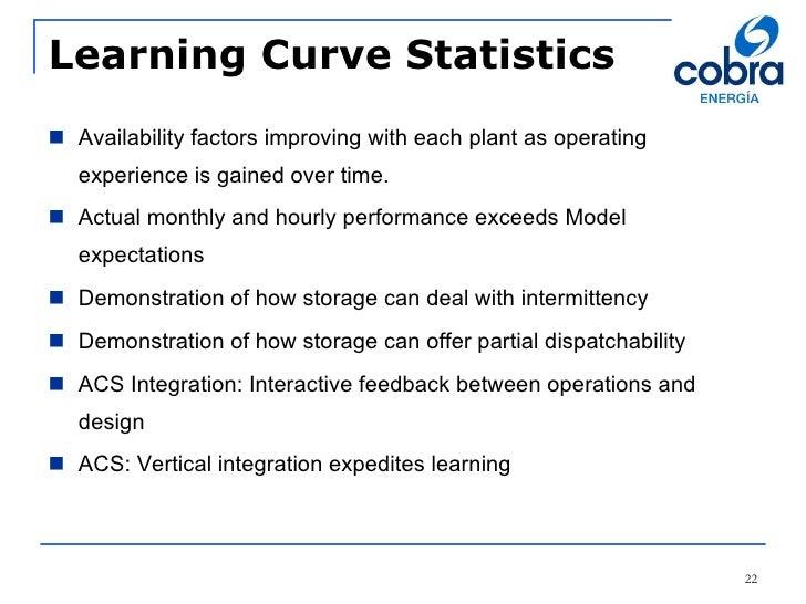 Power Curve Statistics Learning Curve Statistics