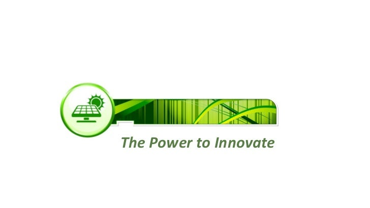 The Power to Innovate
