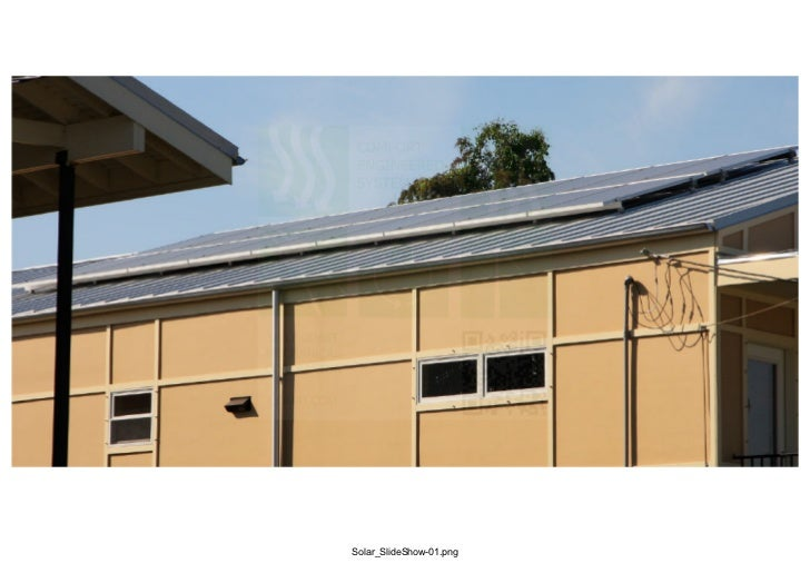 Comfort Engineered Systems Solar Projects