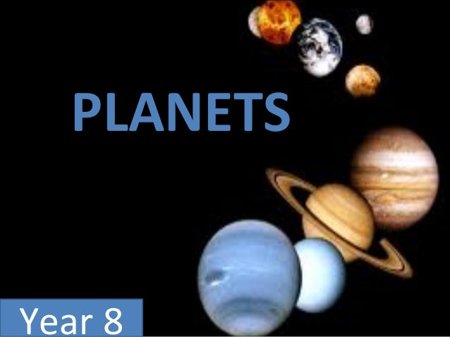 PLANETS Year 8