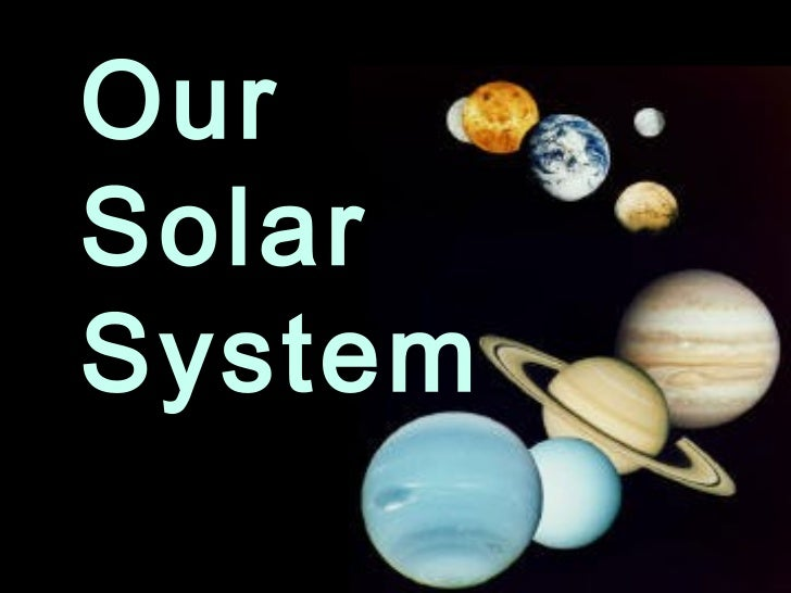 The Solar System Font Pics About Space
