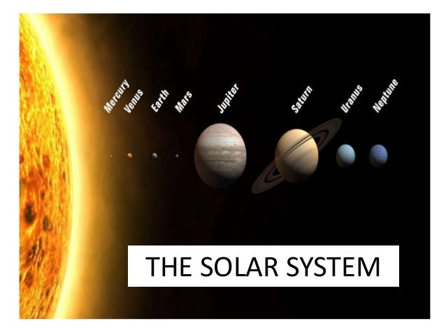 Solar system and planets II