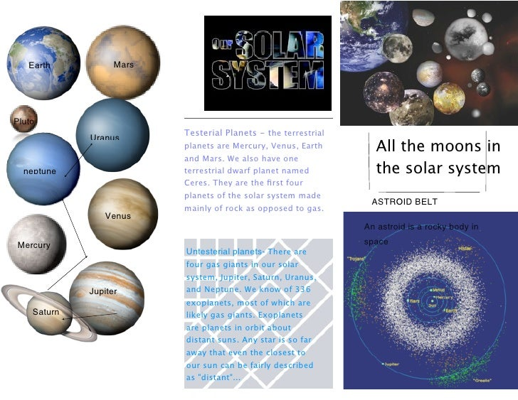 Kristin's Solar System Brochure