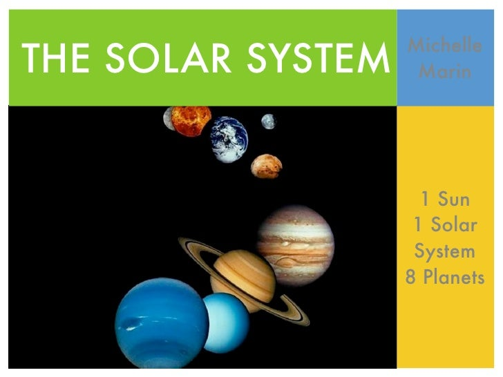 Solar System Powerpoint Webquest Michelle Marin 8B Science