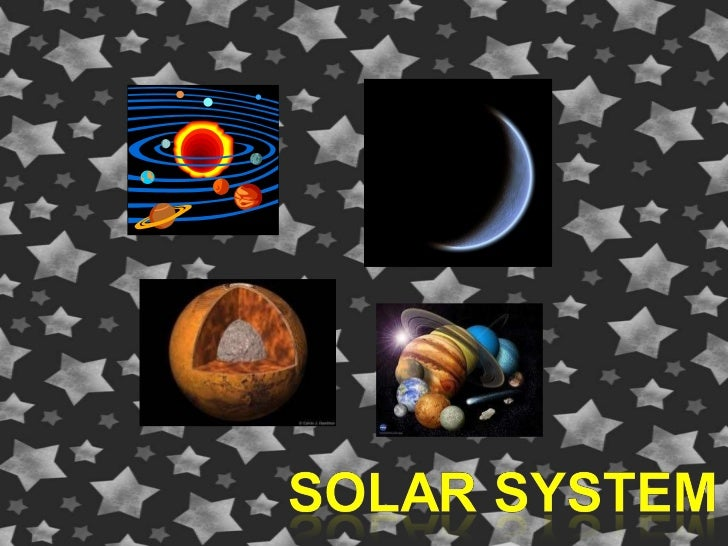 Solar system power point page