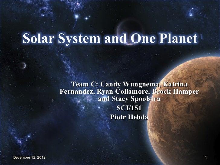 Solar+system+presentation +team+c