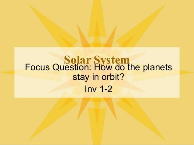Solar System Gravity