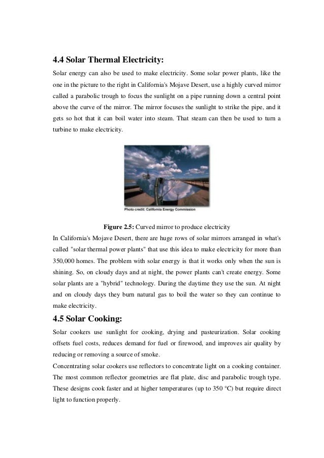 solar thermal thesis Introduction to solar water heaters 7 faq about solar water heaters how does it work introduction to solar thermal water heaters for.