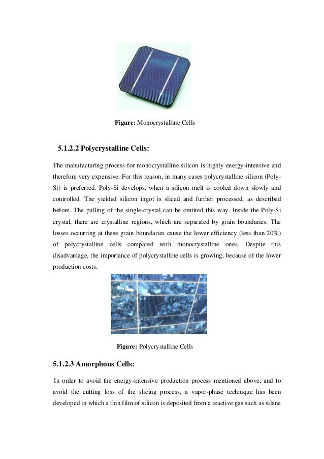 Solar thesis
