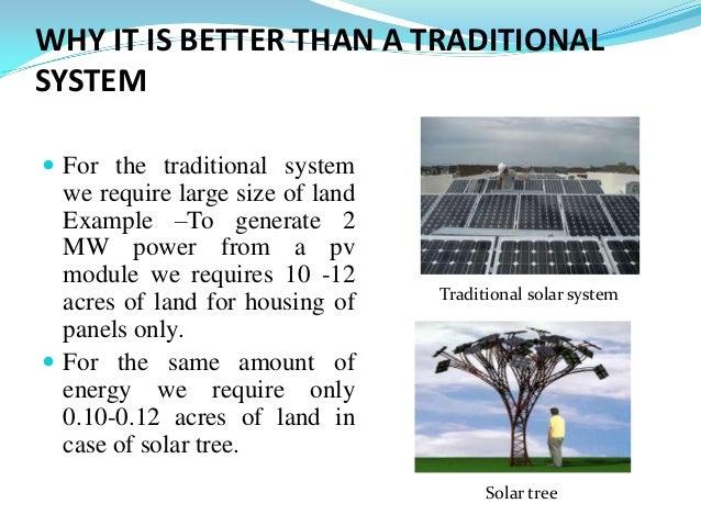 Solar Tree Ppt