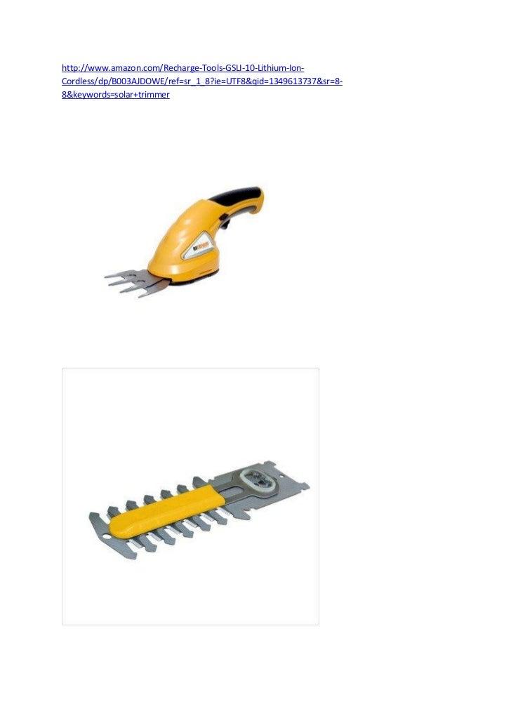 Solar+trimmer