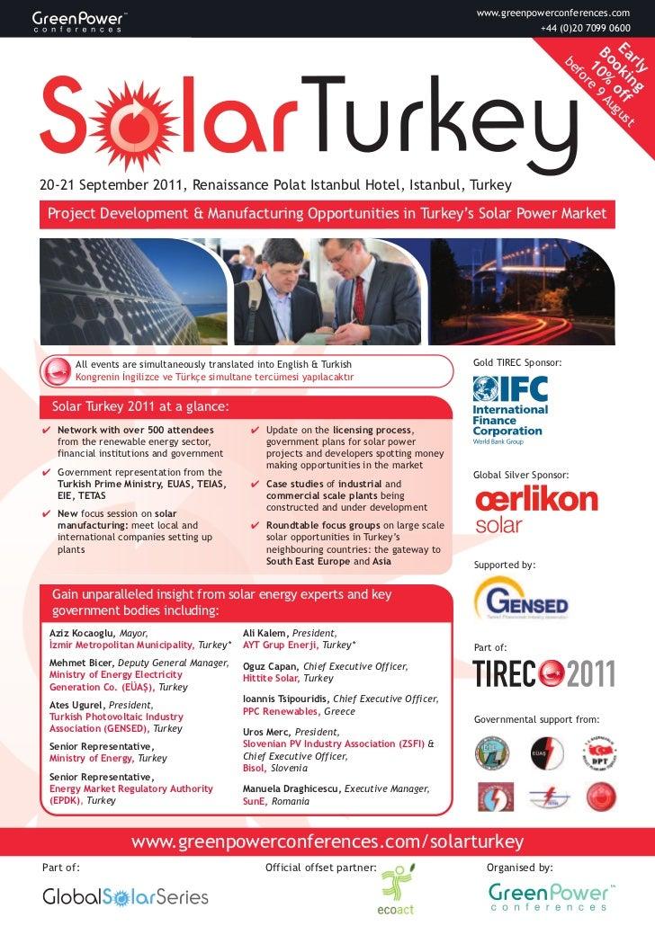 Solar Turkey 2011 - TIREC 2011