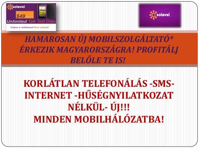 Solavei free mobile phone Magyar