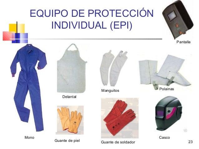 Manual higiene equipos de proteccion individual - Equipo soldadura electrica ...