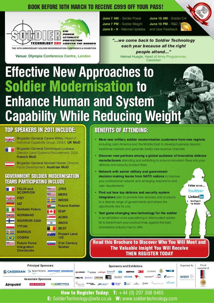 Soldier tech Brochure 2011